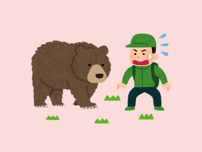 熊に出会った人