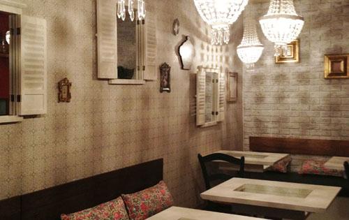 くまもり食堂の内装