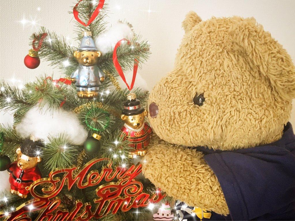 クリスマスツリーとまぁ