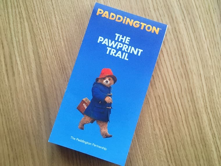 PADDINGTON® THE PAWPRINT TRAIL(パディントンの足跡トレイル)