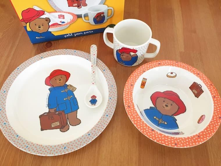 子ども用の食器セット