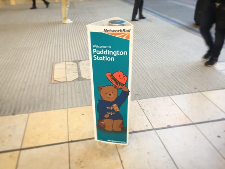 パディントンの広告